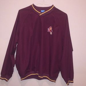 Other - ASU Sun Devil Pullover Windbreaker Jacket